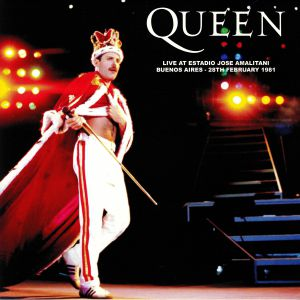 QUEEN - Live At Estadio Jose Amalitani Buenos Aires 28th February 1981