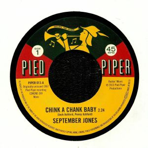 SEPTEMBER JONES/THE PIED PIPER PLAYERS - Chink A Chank Baby