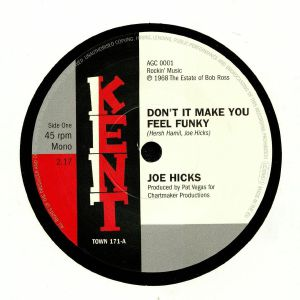 HICKS, Joe - Don't It Make You Feel Funky