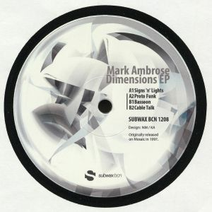 AMBROSE, Mark - Dimensions EP (reissue)