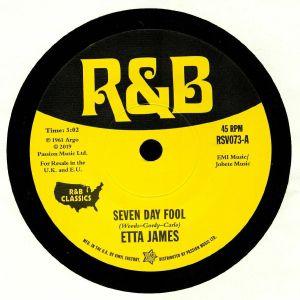 JAMES, Etta/MARY ANN FISHER - Seven Day Fool