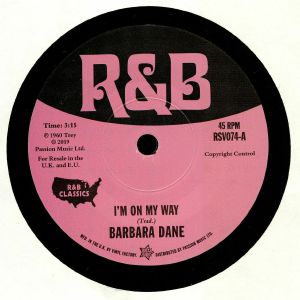 DANE, Barbara/BETTY O'BRIEN - I'm On My Way