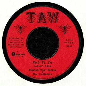 HARRIS, Winston 'Taw'/THE GLADIATORS - Rub It In