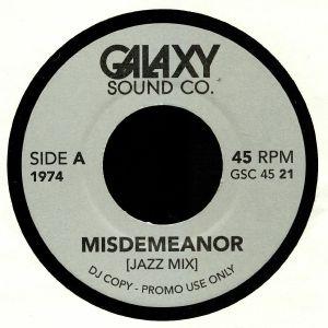 GALAXY SOUND CO - Misdemeanor (Jazz Mix)
