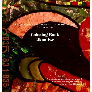 CLAUSSELL, Joaquin Joe - Coloring Book :Kikun Iwe