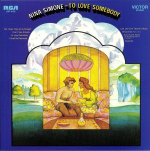 SIMONE, Nina - To Love Somebody
