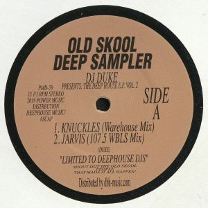 DJ DUKE - Old Skool Deep Sampler: The Deep House EP Vol 2