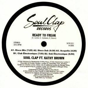 SOUL CLAP feat KATHY BROWN - Ready To Freak