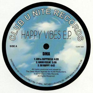 DMA - Happy Vibes EP