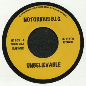 NOTORIOUS BIG - Unbelievable