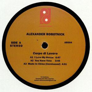 ALEXANDER ROBOTNICK - Corpo Di Lavoro (Camille/Kai Alce mixes)