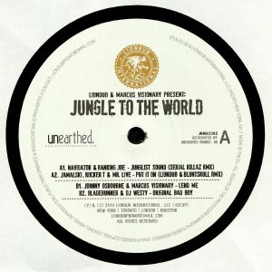 NAVIGATOR/RANKING JOE/JAMALSKI/ROCKER T/MR LIVE/JOHNNY OSBOURNE/MARCUS VISIONARY/BLADERUNNER/DJ WESTY - Liondub & Marcus Visionary Present: Jungle To The World 2