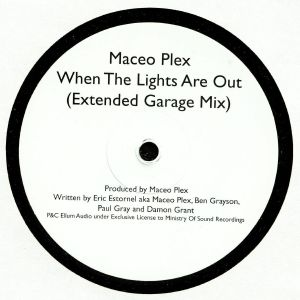 MACEO PLEX - When The Lights Are Out