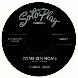 ALLEN, George - Come On Home (reissue)