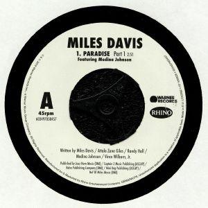 DAVIS, Miles feat MEDINA JOHNSON - Paradise