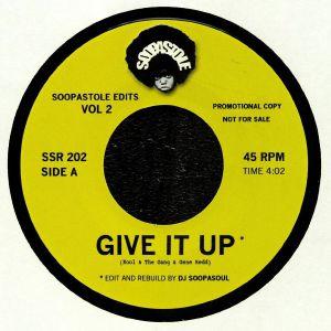 DJ SOOPASOUL/KOOL & THE GANG/GENE REDD/ARETHA FRANKLIN - Soopastole Edits Vol 2 (reissue)
