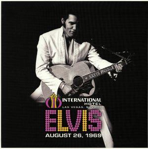 PRESLEY, Elvis - Elvis: International Hotel Las Vegas Nevada August 26 1969