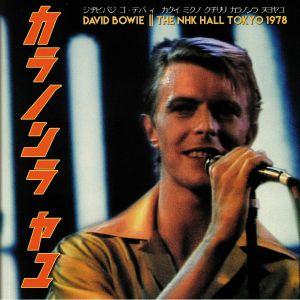 BOWIE, David - The NHK Hall Tokyo 1978
