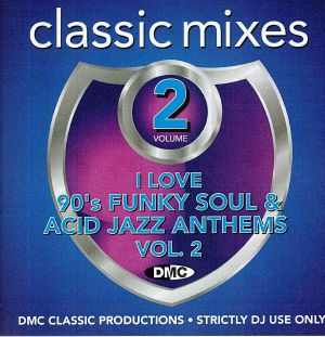 VARIOUS - I Love 90s Funky Soul & Acid Jazz Anthems Vol 2