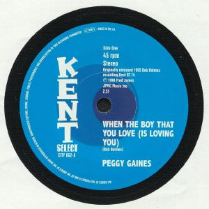 GAINES, Peggy - When The Boy That You Love (Is Loving You)