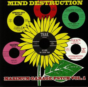 VARIOUS - Mind Destruction: Maximum Garage Psych Vol 1
