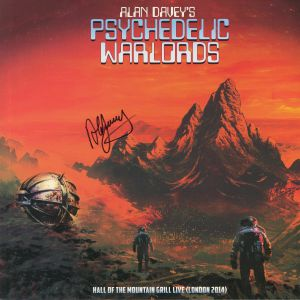 ALAN DAVEY'S PSYCHEDELIC WARLORDS - Hall Of The Mountain Grill Live, London 2014