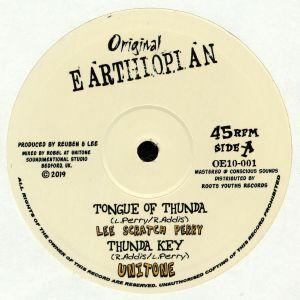 PERRY, Lee Scratch/UNITONE/RAS TEO - Tongue Of Thunda
