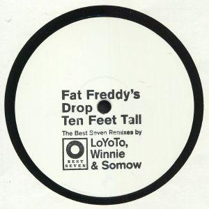 FAT FREDDY'S DROP - Ten Feet Tall (remixes)