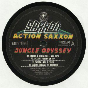 SAXXON/DJ LIMITED - Action Saxxon: Jungle Odyssey EP 2
