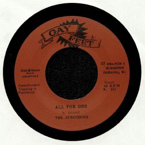 AFROTONES, The/THE VALENTINES - All For One
