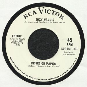 WALLIS, Suzy/LEE ANDREWS & THE HEARTS - Kisses On Paper (reissue)