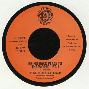 SPENCER JACKSON FAMILY - Bring Back Peace To The World (reissue)