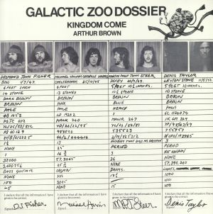 KINGDOM COME/ARTHUR BROWN - Galactic Zoo Dossier (reissue)