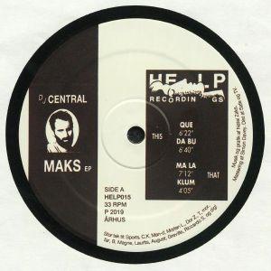 DJ CENTRAL - Maks EP
