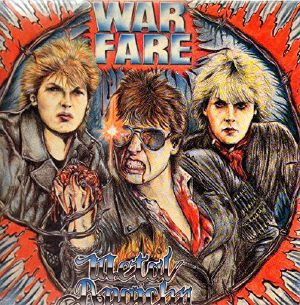 WARFARE - Metal Anarchy (reissue)
