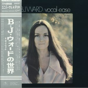 BJ WARD - Vocal Ease (reissue)