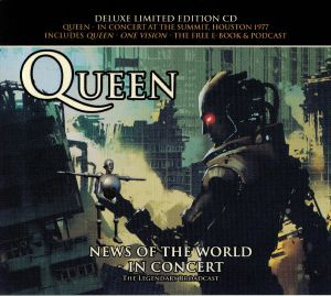 QUEEN - News Of The World In Concert At The Summit Houston 1977 (Deluxe Edition)