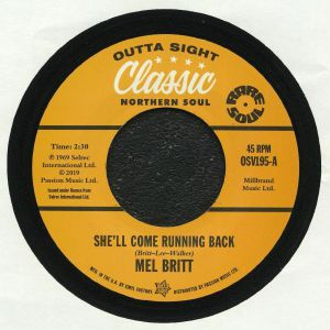BRITT, Mel/THE GROUP - She'll Come Running Back (reissue)