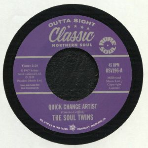 SOUL TWINS, The/N F PORTER - Quick Change Artist (reissue)