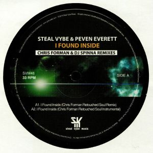 EVERETT, Peven/STEAL VYBE - I Found Inside (remixes)