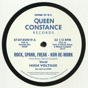 HIGH VOLTAGE/CHAIN REACTION - Rock Spank Freak