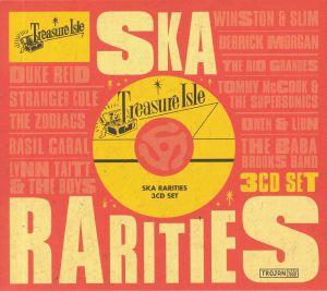 VARIOUS - Treasure Isle Ska Rarities
