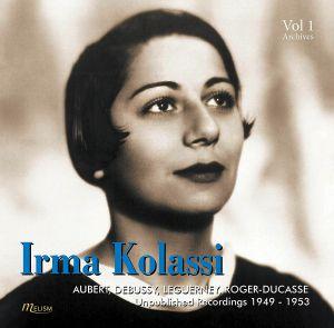 KOLASSI, Irma - Auber, Debussy, Roger-Ducasse: Piano Wks