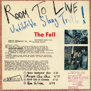 FALL, The - Room To Live (Deluxe Edition)
