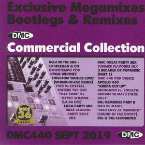 VARIOUS - DMC Commercial Collection September 2019: Exclusive Megamixes Bootlegs & Remixes (Strictly DJ Only)