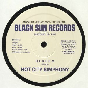 HARLEM/BELIVE IN MAGIC - Hot City Symphony (reissue)