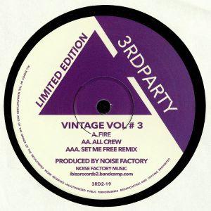 NOISE FACTORY - Vintage Vol #3