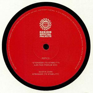 ZAHN, Dustin - Stranger (To Stability) (Len Faki remixes)