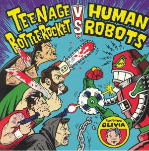 TEENAGE BOTTLEROCKET/HUMAN ROBOTS - Split