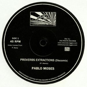 MOSES, Pablo - Proverbs Extractions